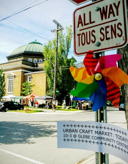 Urban Craft Market Ottawa Pinwheel