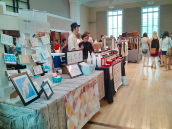 Urban Craft Market Ottawa Booths